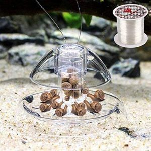 SENZEAL Escargot Piège en plastique Piège Mains sur le receveur avec la ligne de pêche pour Aquarium de la marque SENZEAL image 0 produit