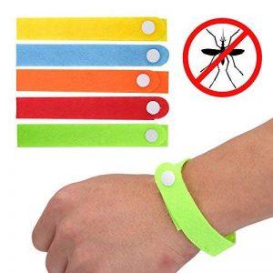 SHOP STORY 30 Bracelets Anti-Moustique 100% Naturel Citronnelle Couleur Varié Au Hazard - Remède Naturel Anti-Moustiques Vraiment Efficace de la marque SHOP STORY image 0 produit