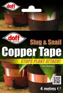 Slug Tape Snail Tape Doff Slug And Snail Copper Tape 4 Meters Stops Plant Attack de la marque Doff image 0 produit