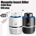 SMILEQ USB Anti-moustique Helper électrique Fly Bug Zapper Moustique Insectes Tueur LED Lumière Piège Lampe Pest Control de la marque SMILEQ image 1 produit