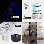 SMILEQ USB Anti-moustique Helper électrique Fly Bug Zapper Moustique Insectes Tueur LED Lumière Piège Lampe Pest Control de la marque SMILEQ image 3 produit