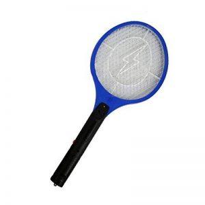 SODIAL Tapette electrique anti-moustique de batterie en ABS de la couleur bleue de la marque SODIAL image 0 produit