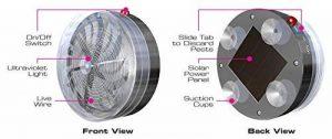 SOLAR BUZZ KILL Le piège à insecte par énergie solaire - Vu à la Télé de la marque BestofTv image 0 produit