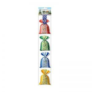 Souvenirs de France - 4 Sachets de Fleurs de Lavande de Provence 4 x 20g de la marque Plantes et Parfums de Provence image 0 produit