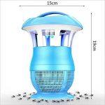 Sûr et Faible Bruit - Moustique Lampe 360 Degrés Mosquito Tueur Restaurant Mouche Lampe de Contrôle Double-Face Mosquito Papier Collant -Fort Effet de Capture de moustiques (Couleur : Bleu) de la marque WXP-Lampe anti-moustique image 1 produit