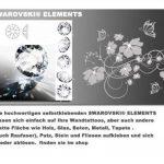 sticker mural arbre oiseau branches vrille salle de séjour 40 couleurs pour le choix wbm25(073 gris foncé, set4:arbre 210 x200cm H, ) de la marque Deco-idea image 4 produit