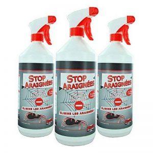 Stop Araignées lot de 3X1L + 3 Pulvérisateurs + 1 Bracelet Anti-Moustiques de la marque Stone Guard image 0 produit