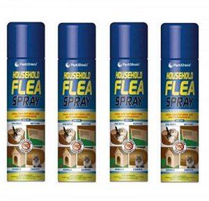 Stv020Spray 4pk 200ml Aérosol anti-puce Animal Chien Chat tiques protection Maison de la marque Pestshield image 0 produit