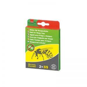 Swissinno 1400001KSN Natural Control Appât pour piège à guêpe 2 pièces de la marque Natural Control image 0 produit