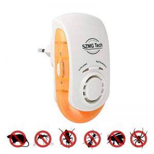 SZMG repulsif ultrason Plug électromagnétique dans Insect & Pest Control, dissuader les moustiques, les fourmis, les mouches, les cafards, les puces, les rongeurs, les araignées, les souris de la marque SZMG Tech image 0 produit