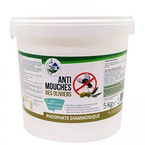 TERRA NOSTRA Phosphate Diammonique Appât mouches des oliviers Seau 5 Kg Utilisable en agriculture biologique de la marque TERRA NOSTRA image 0 produit