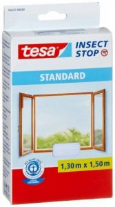 Tesa Insect Stop Moustiquaire Standard pour fenêtre, 1.30m x 1.50m, Blanche de la marque Tesa image 0 produit