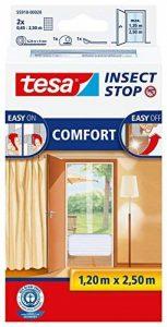tesa - Moustiquaire Comfort pour portes 2 x 0,65m x 2,50m Blanc de la marque Tesa image 0 produit