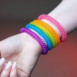 The Body Source Bracelets Anti-Moustiques - Lot DE 10 - pour Adultes et Enfants - Naturels Huiles essentielles - Ne Contient Pas de DEET. Résiste à L'eau de la marque The Body Source image 4 produit