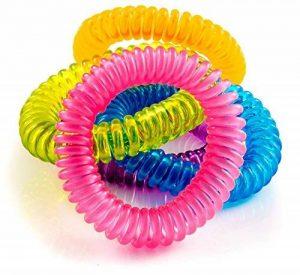 The Body Source Bracelets Anti-Moustiques - Lot DE 10 - pour Adultes et Enfants - Naturels Huiles essentielles - Ne Contient Pas de DEET. Résiste à L'eau de la marque The Body Source image 0 produit