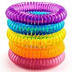 The Body Source Bracelets Anti-Moustiques - Lot DE 10 - pour Adultes et Enfants - Naturels Huiles essentielles - Ne Contient Pas de DEET. Résiste à L'eau de la marque The Body Source image 2 produit