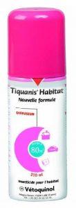 TIQUANIS HABITAT DIFFUSEUR 100ml traiement global habitat (pièce 80 m²) de la marque Tiquanis image 0 produit