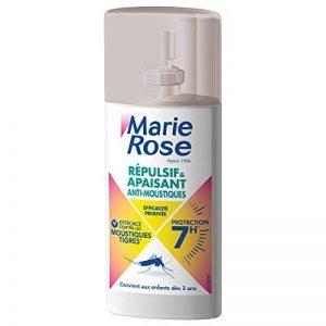 Titre Marie Rose Spray Anti-Moustiques 2 en 1 Répulsif et Apaisant 100ml de la marque Marie rose image 0 produit
