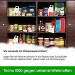 Trichogrammes contre mites alimentaires 3 livraisons pack de 10 cartes (1000 oeufs) de la marque Der Motten-Shop image 4 produit