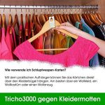Trichogrammes contre mites textiles 6 livraisons pack de 10 cartes (3000œufs) de la marque AMW Nützlinge image 4 produit