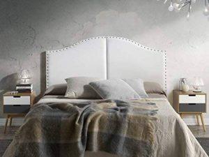 Tête de lit Lyon avec des punaises 160X95 Blanc de la marque Marckonfort image 0 produit