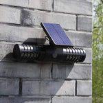 Tueur extérieur d'insecte extérieur solaire professionnel, LED ultra-silencieux aucune lampe de moustique de rayonnement, contrôle léger de moustique de preuve de pluie / lampe de mur de Zapper d'insecte, insertion / accrochage mural, charge d'USB de la m image 2 produit