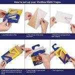 Valeur Pack 3x naturel Mottlock Piège antimites–Best Catch taux Piège antimites pour vêtements mites sur le marché. de la marque Aries image 3 produit
