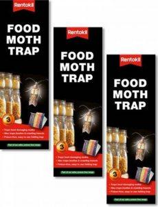 Value Pack 3x 3pk pièges antimites alimentaires (9pièges Total) de la marque Rentokil image 0 produit