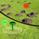 Vensmile Répulsif anti taupe solaire - Anti taupes, campagnols, fourmis, serpents et nuisibles IP56 imperméable, 800 m² de la marque Vensmile image 2 produit