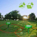 Vensmile Répulsif anti taupe solaire - Anti taupes, campagnols, fourmis, serpents et nuisibles IP56 imperméable, 800 m² de la marque Vensmile image 3 produit