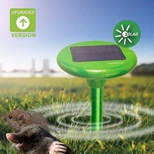 Vensmile Répulsif anti taupe solaire - Anti taupes, campagnols, fourmis, serpents et nuisibles IP56 imperméable, 800 m² de la marque Vensmile image 0 produit