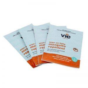 Vie Lingettes anti-moustiques et insectes, sans Deet, convient aux enfants et bébés de la marque Vie Healthcare image 0 produit