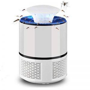 VORCOOL LED Bug Zapper Lampe électronique Mosquito Tueur Intérieur Moustique Piège Inhalé Mosquito Tueur Fly Tueur USB Chargeur 6 Lampes (Blanc) de la marque VORCOOL image 0 produit