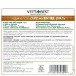 vétérinaire de Meilleur Naturel puces et tiques Yard & Kennel Spray, 907,2gram, fabriquée aux États-Unis de la marque Vets Best image 1 produit