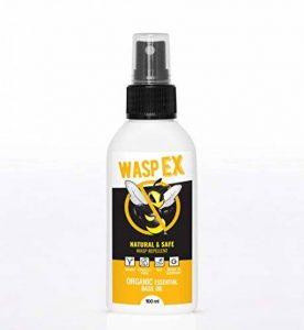 WaspEX Spray Anti Guêpes| Produit bio NON insecticide | A l'huile de basilic | Répulsif contre guêpes et abeilles | Convient aux enfants de la marque WaspEx image 0 produit