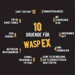 WaspEX Spray Anti Guêpes| Produit bio NON insecticide | A l'huile de basilic | Répulsif contre guêpes et abeilles | Convient aux enfants de la marque WaspEx image 3 produit