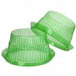 Windhager anneau anti-limaces, anti-limaces, 6pièces–diamètre: 23cm–vert–pour la défense contre les limaces–protège les plantes contre les animaux de la marque Windhager image 4 produit