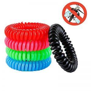 windtalk Bracelets anti-moustiques, 10pièces/set, usage intérieur et extérieur, adultes et enfants, 100% naturel Huiles Végétales de la marque WindTalk image 0 produit
