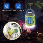 WloveTravel Mosquito Killer, 3en 1Bug Zapper lampe Lanterne de camping d'urgence et chargement 2200mAh Batterie rechargeable avec crochet rétractable 3modes lumières Green de la marque WloveTravel image 3 produit