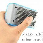 xueyan& Le meilleur outil professionnel de dégringage et brosse de toilettage d'animal familier, sky blue de la marque xueyan& image 3 produit