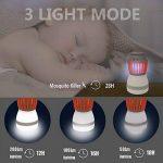 YAMI 2-en-1 Tueur de moustiques & Lanterne de camping Tente Lumière IP67 Imperméable à l'eau Bug Zapper LED Lampe Charge Par USB pour Extérieur et Urgences de la marque YAMI image 4 produit