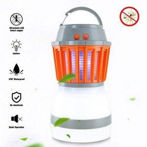 YAMI 2-en-1 Tueur de moustiques & Lanterne de camping Tente Lumière IP67 Imperméable à l'eau Bug Zapper LED Lampe Charge Par USB pour Extérieur et Urgences de la marque YAMI image 0 produit