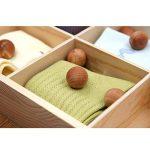 Yizhet Lot de 40 boules en bois de cèdre antimites,Bois de cèdre de boule de cèdre pour le Cabinet de tiroir de la marque Yizhet image 3 produit