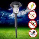 Yocitoy moustique zapper lampe de pelouse été UV LED solaire alimenté extérieur Yard jardin pelouse anti moustique insecte ravageur bug zapper lampe de piégeage lanterne lumière de la marque Yocitoy image 3 produit