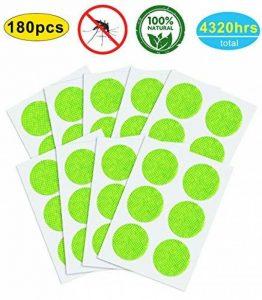 YSense Stopic Anti-Moustiques Naturels Patchs (x180), Autocollants Anti-Moustique de la marque YSense Stopic image 0 produit