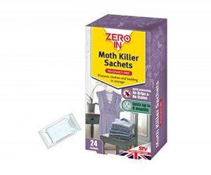 Zero In Vêtements Moth Killer sachets–Lot de 24 de la marque Stv International image 0 produit